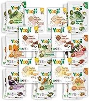 Yooji - Panier Légumes Viandes et Poissons Bio pour le Repas de Bébé de 9 à 12 Mois - Alimentation Saine et Éq