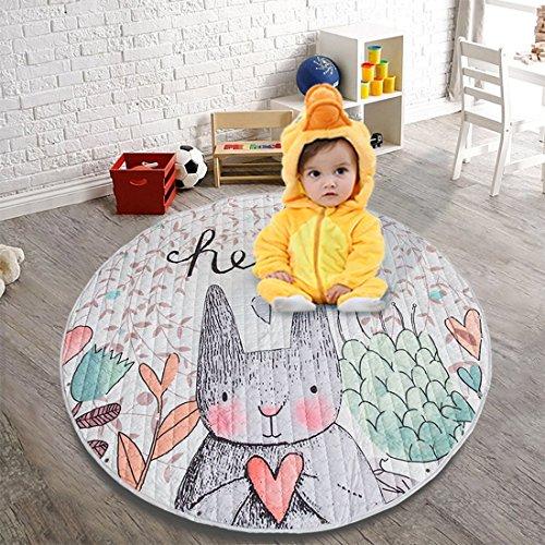 Jamestyle26Alfombra de juego para niños, con bolsa de transporte, perfecta para la habitación de los niños