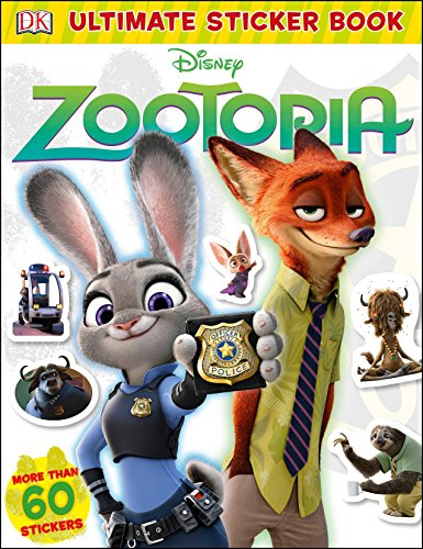 Disney Zootopia (DK Ultimate Sticker Collections)