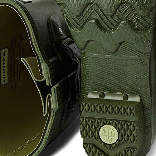 Hunter Norris Field Adjustable Mens Neoprene Wellington Vintage Green