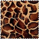 Weiches Fell Haut Nachahmung Giraffe Muster Animal Polster Material Kissen Vorhang Handwerk Stoff