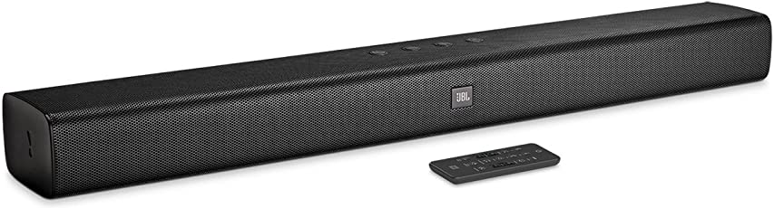 JBL 2.0 Wireless Sound bar with Built in Dual Base Port (Black)