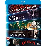 Blu ray 5-Movie Starter Pack: Mama/The Purge/Purge: Anarchy/OUIJA/As Above, So Below