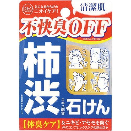 ã?Limited Time Offerã?SHIBUGAKI Extract Soap DEOTANNIGU Soap 100g (with Trial Shampoo ) (japan import)