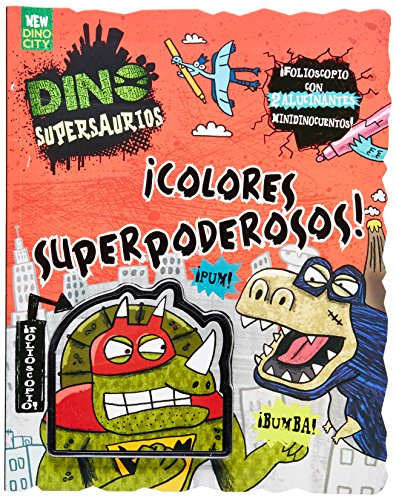 Dino Supersaurios Colorear par Nikalas Catlow