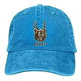 Aoliaoyudonggha Beer Unisex Adjustable Baseball Caps Denim Hats Cowboy Sport Outdoor