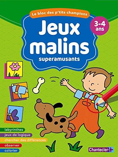 Descargar BLOC JEUX MALINS 3-4 ANS