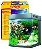 Sera 31152 Biotop LED Cube 130 XXL Ein 130 l Süßwasser-Komplettaquarium mit LED Beleuchtung und Filtration