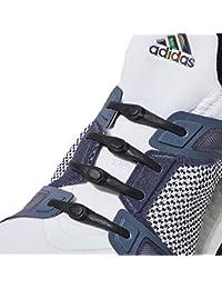 Hickies Neu 2.0 Performance elastische Schnürsenkel, Einheitsgröße, ohne binden (14 Schnürsenkel, für alle Schuh