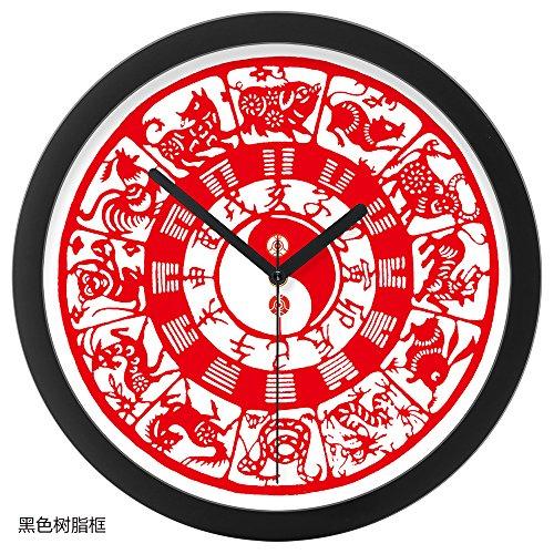 lkmnj-minimalistischen-modernen-nach-wand-clock-table-original-zodiac-stille-glocken-12-in-schwarzem