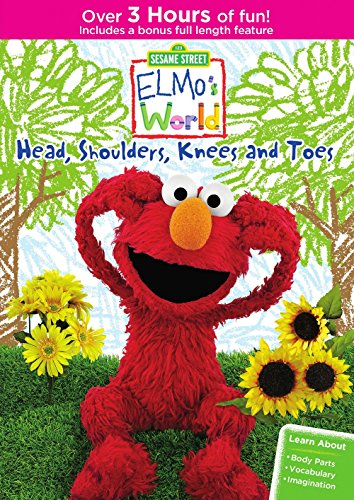 Preisvergleich Produktbild Sesame Street: Elmo's World: Head, Shoulders, Knees And Toes