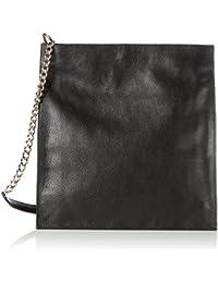 Nice, Womens Shoulder Bag, Schwarz (Black), 5x23x19 cm (B x H T) Vagabond