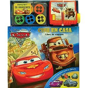 Cine en casa / Cars Movie Theater: Libro de cuentos / Book of Stories (Cars 2)