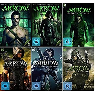 Arrow Staffel 1-6 (1+2+3+4+5+6) DC Serie [DVD Set]