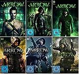 Arrow Staffel 1-6 (1+2+3+4+5+6) DC Serie [DVD Set]