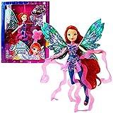 World of Winx - Dreamix Fairy - Hada Bloom Muñeca 28cm con Traje Mágico