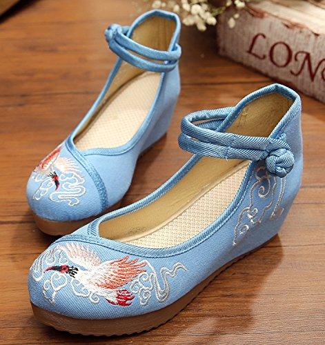 ICEGREY , Chaussures de ville à lacets pour femme Bleu clair