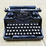 Longless Home Decor decorazione artigianato del ferro europei e americani retrò decorazione Vintage Modello macchina da scrivere doni creativi