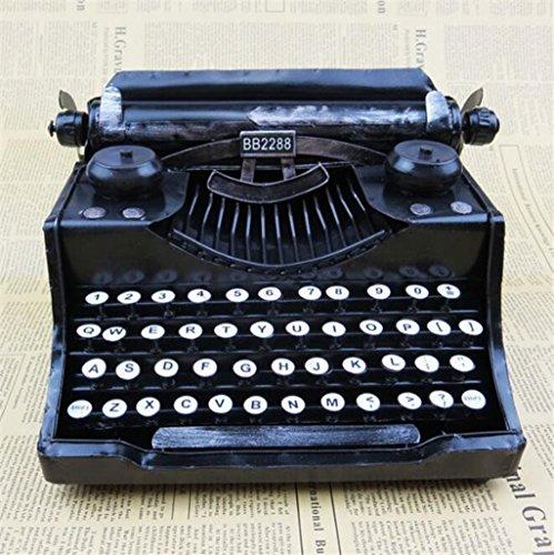 Longless Home Dekoration Eisen Handwerk Europäische und Amerikanische Dekoration Retro Vintage Schreibmaschine Modell kreative Geschenke