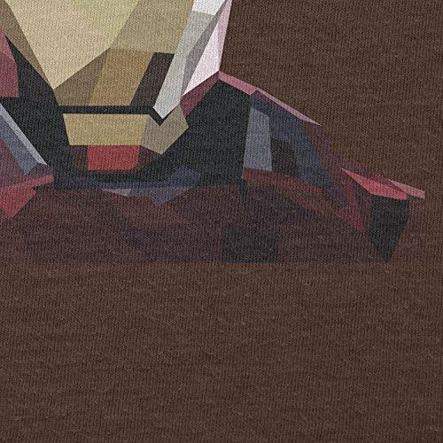 Texlab–Iron Polygon–sacchetto di stoffa Marrone