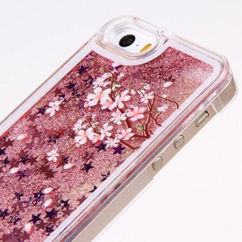 Ukayfe Ultra Slim Hard Plastica Protettivo Skin Custodia Stilosa custodia di design Protettiva Shell Case Cover Per Apple iphone 6 Plus/6S Plus (5.5 pollice) Con free Stilo Penna - Inglese Signature Fiori rosa stampa
