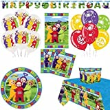 Teletubbies Deluxe Artículos Para Fiestas Kit for 16