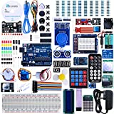 Elegoo UNO R3 The Most Complete Starter Kit provides an open-source electronics prototyping platform based on flexible, easy-to-use hardware and software. It contains all of the essential components required to start programming with the Elegoo Uno R...