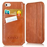 KAVAJ iPhone Ledertasche Case Hülle