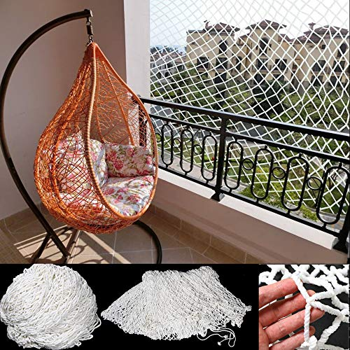 Capalta Blume Katzenschutznetz Katzennetz Balkonnetz Netz Balkonschutznetz 3 x 8 m Maschenweite 5 cm