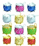 Kriti Creations Christmas Gift Tree Decorations Multicolor Shiny Drums