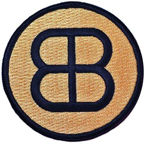 Blau Blaze Irregulars gesticktes Logo Patch von Main Street 24/7 ()