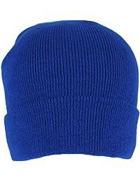 Men's Royal Blue Thermal Sports Beanie Hat