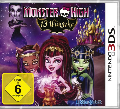 Monster High - 13 Wünsche [Software Pyramide] - [Nintendo 3DS]