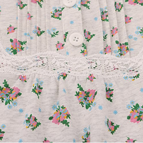 Fall Lingerie/Pyjamas/Frische kleine Blumen Baumwolle Nachtzeug/Handwerksleistungen und Freizeit A