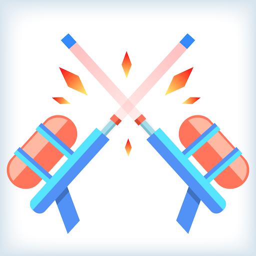 1d72bdfcb52c3 Double Toy Guns  Shoot the target to break it - popular super simple fun  games