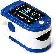 Saturimetro Ossimetro Pulsossimetro Pulsossimetro da Dito Portatile con Display OLED per Saturazione di Ossigeno e Frequenza