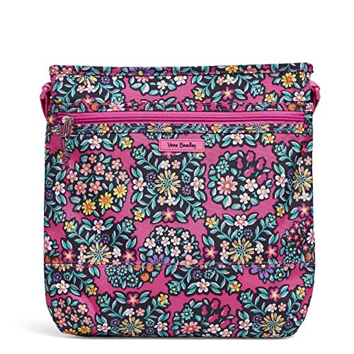 Vera Bradley Damen Lighten Up Slim Crossbody, Kaleidoscope Rosettes, Einheitsgröße -