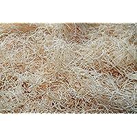 Holzwolle 0,5 kg - 25 kg naturbelassen, unbehandelt Füllmaterial aus deutschem Wald - Holzwolle Naturfarben, Füllmaterial für Pakete, Versand, Kartons, Präsentkörbe, Osternestmaterial