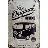Nostalgic-Art 22188 Volkswagen - VW Bulli - The Original Ride, Blechschild 20x30 cm