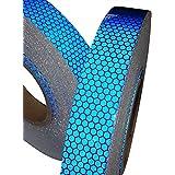 Tuqiang® 1 ruban adhésif réfléchissant bleu haute intensité - 25mm x 2,5m