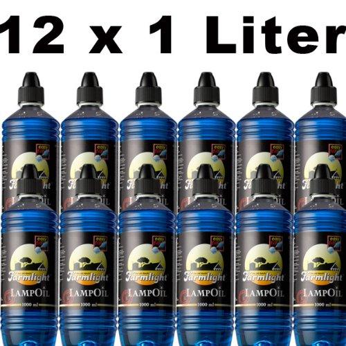Sel-Chemie Inscrire l'huile de Paraffine 12 litres farmlight différentes Couleurs et différentes Couleurs Rouge/Jaune/Bleu/Vert Bleu