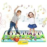 tapis de jeux enfant, Jouet Enfant 1 2 3 4 5 6 ans Garçons Filles-Tapis Tapis Musical Piano Enfant, Tapis Clavier Musical Tac