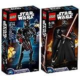 Lego Star Wars 2er Set 75526 75117 Elite TIE Fighter Pilot + Kylo Ren