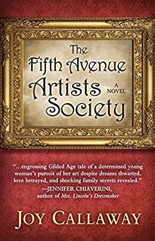 book cover of The Fifth Avenue Artists Society
