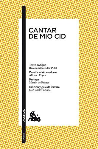 Cantar de Mio Cid (Poesía) por Anónimo