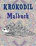 Krokodil - Malbuch