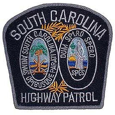 South Carolina Highway Patrol patch Findingking 7,62 cm