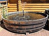 JUNIT 1000 Liter Eichenfasshälfte Durchmesser 232x152cm und Höhe 54cm.