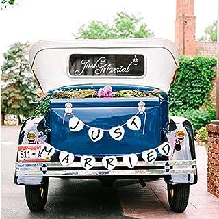 Preis Am Stiel Dosen Set Just Married Fur Das Auto Hochzeitsdeko