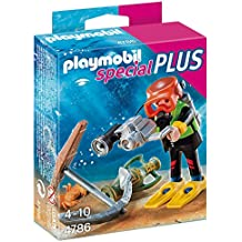 Playmobil Especiales Plus - Figura submarinista del tesoro (4786)